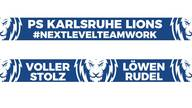 Premium Fan Schal - PS Karlsruhe Lions Fan Shop