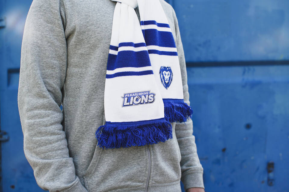 Fan Schal Classic - PS Karlsruhe Lions Fan Shop